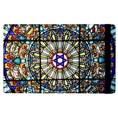 Vitrage Stained Glass Church Window Apple Ipad 2 Flip Case