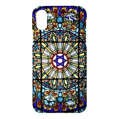 Vitrage Stained Glass Church Window Apple Iphone Xs Hardshell Case