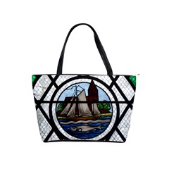 Window Image Stained Glass Classic Shoulder Handbag