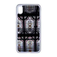 Stained Glass Window Repeat Apple Iphone Xr Seamless Case (white)
