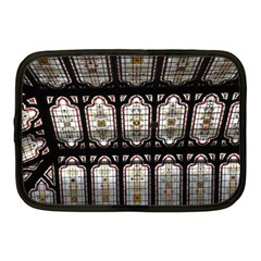 Window Image Stained Glass Netbook Case (medium) by Pakrebo