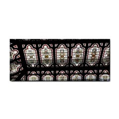 Window Image Stained Glass Hand Towel