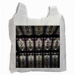 Window Image Stained Glass Recycle Bag (one Side) by Pakrebo