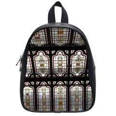 Window Image Stained Glass School Bag (small) by Pakrebo