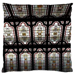 Window Image Stained Glass Large Cushion Case (one Side)