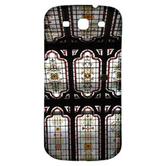 Window Image Stained Glass Samsung Galaxy S3 S Iii Classic Hardshell Back Case