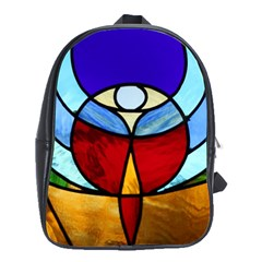 Church Window Glass Tiffany School Bag (large)
