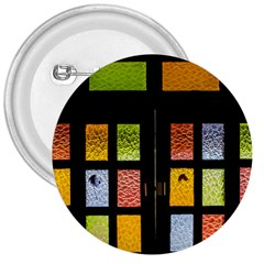 Window Stained Glass Glass Colors 3  Buttons