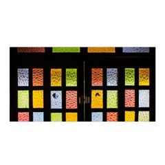 Window Stained Glass Glass Colors Satin Wrap