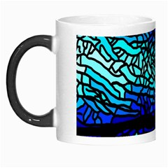 Sea Fans Diving Coral Stained Glass Morph Mugs by Pakrebo