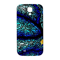 Sea Fans Diving Coral Stained Glass Samsung Galaxy S4 I9500/i9505  Hardshell Back Case
