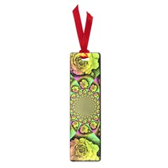 Rose Painted Kaleidoscope Colorful Small Book Marks