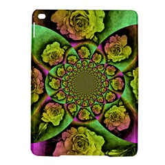 Rose Painted Kaleidoscope Colorful Ipad Air 2 Hardshell Cases