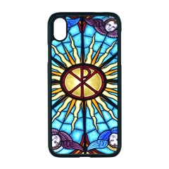 Church Window Stained Glass Church Apple Iphone Xr Seamless Case (black)