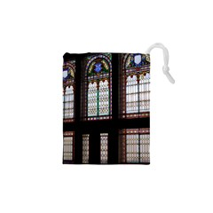 Stained Glass Window Krotoszyn Drawstring Pouch (xs)