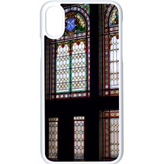 Stained Glass Window Krotoszyn Apple Iphone Xs Seamless Case (white)