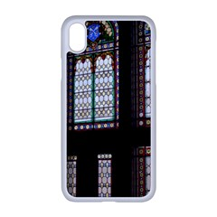 Stained Glass Window Krotoszyn Apple Iphone Xr Seamless Case (white)