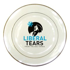 Liberal Tears Special Funny Mug With Supplement Facts Porcelain Plate by snek