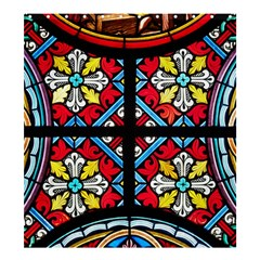 Stained Glass Window Colorful Color Shower Curtain 66  X 72  (large)