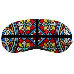 Stained Glass Window Colorful Color Sleeping Masks
