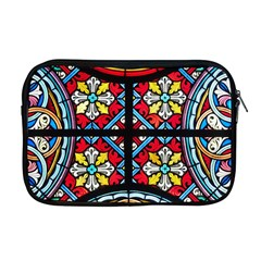 Stained Glass Window Colorful Color Apple Macbook Pro 17  Zipper Case
