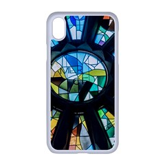 Cathedral Sagrada Fam¨alia Barcelona Apple Iphone Xr Seamless Case (white)