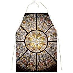 Stained Glass Window Glass Ceiling Full Print Aprons