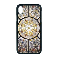 Stained Glass Window Glass Ceiling Apple Iphone Xr Seamless Case (black)