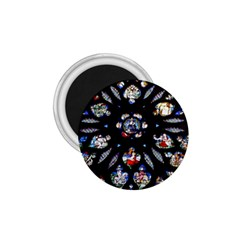 Stained Glass Sainte Chapelle Gothic 1 75  Magnets
