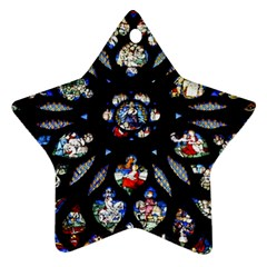 Stained Glass Sainte Chapelle Gothic Ornament (star)