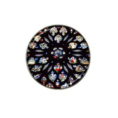 Stained Glass Sainte Chapelle Gothic Hat Clip Ball Marker