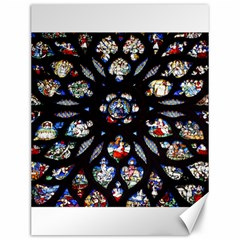 Stained Glass Sainte Chapelle Gothic Canvas 12  X 16