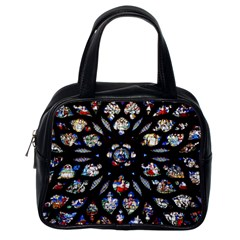 Stained Glass Sainte Chapelle Gothic Classic Handbag (one Side) by Pakrebo