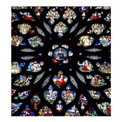 Stained Glass Sainte Chapelle Gothic Shower Curtain 66  X 72  (large)