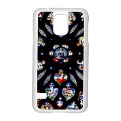 Stained Glass Sainte Chapelle Gothic Samsung Galaxy S5 Case (white)
