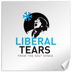 Liberal Tears Funny Screeching Democrat Screaming Canvas 12  X 12
