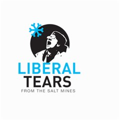 Liberal Tears Funny Screeching Democrat Screaming Small Garden Flag (two Sides) by snek