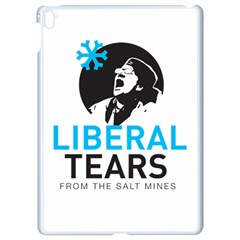 Liberal Tears Funny Screeching Democrat Screaming Apple Ipad Pro 9 7   White Seamless Case by snek