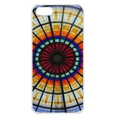 Background Stained Glass Window Apple Iphone 5 Seamless Case (white)