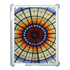 Background Stained Glass Window Apple Ipad 3/4 Case (white)