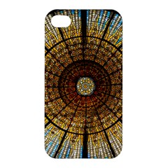 Barcelona Glass Window Stained Glass Apple Iphone 4/4s Hardshell Case
