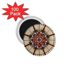 Pattern Round Abstract Geometric 1 75  Magnets (100 Pack)