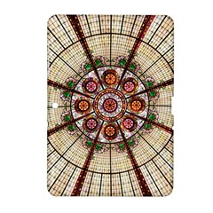 Pattern Round Abstract Geometric Samsung Galaxy Tab 2 (10 1 ) P5100 Hardshell Case