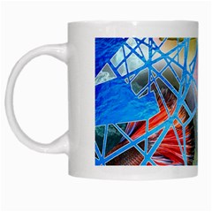 Wallpaper Stained Glass White Mugs