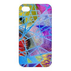 Wallpaper Stained Glass Apple Iphone 4/4s Hardshell Case