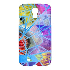 Wallpaper Stained Glass Samsung Galaxy S4 I9500/i9505 Hardshell Case by Pakrebo