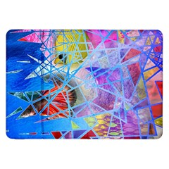 Wallpaper Stained Glass Samsung Galaxy Tab 8 9  P7300 Flip Case