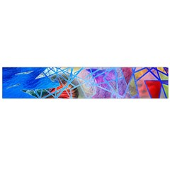 Wallpaper Stained Glass Large Flano Scarf