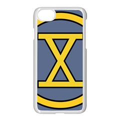 United States Army 10th Infantry Division Insignia Apple Iphone 8 Seamless Case (white)