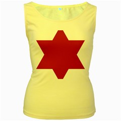United States Army 6th Infantry Division Insignia Women s Yellow Tank Top by abbeyz71
